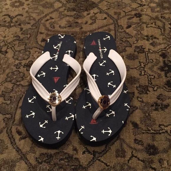 b0d9c6116137 Anchor navy blue flip flops. M 5b9855a304e33d3f26829fc2